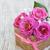 güller · sepet · tablo · buket · parlak · beyaz - stok fotoğraf © es75