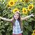 słonecznika · szczęścia · portret · cute · kobiet · bliźnięta - zdjęcia stock © es75