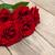 red · roses · biały · kwiaty · górę · widoku - zdjęcia stock © es75