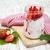 organikus · joghurt · piros · rusztikus · tál · étel - stock fotó © es75