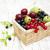 frescos · blanco · fondo · naturaleza · frutas · verano - foto stock © es75