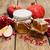 miodu · jar · jabłka · granat · nowy · rok · wakacje - zdjęcia stock © es75