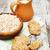 cam · kurabiye · yalıtılmış · beyaz · tatlı - stok fotoğraf © es75