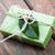 el · yapımı · sabun · yeşil · nane · yaprakları · damla - stok fotoğraf © es75