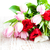 lale · buket · renkli · ahşap · Paskalya · çiçekler - stok fotoğraf © Es75