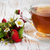 tea and wild strawberries stock photo © es75