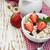 grain muesli with strawberries stock photo © es75