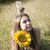 ヒマワリ · 幸福 · 肖像 · かわいい · 女性 · 双子 - ストックフォト © es75