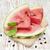 dilimleri · kırmızı · karpuz · doku · yeşil · renk - stok fotoğraf © es75