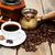 чашку · кофе · кофе · корицей · Кубок · кофе · вокруг - Сток-фото © es75