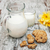 jug with milk and oatmeal cookies stock photo © es75
