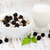 bowl of muesli with blackberries stock photo © es75
