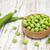 fresco · jardim · ervilhas · branco · natureza · folha - foto stock © es75