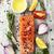 lezzetli · taze · somon · fileto · aromatik - stok fotoğraf © es75