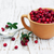 cuchara · de · madera · Berry · madera · frutas - foto stock © es75