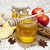 avó · maçã · temperos · mesa · de · madeira · madeira · fruto - foto stock © es75