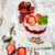 aardbei · yoghurt · müsli · oude · houten · voedsel - stockfoto © Es75