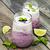 ヨーグルト · 果物 · 食品 · クリーム · ダイエット · 健康 - ストックフォト © es75
