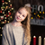 little girl near christmas tree stock photo © es75
