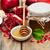 miele · jar · mele · melograno · capodanno · vacanze - foto d'archivio © es75