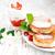 palacsinták · tányér · friss · eprek · gyümölcs · reggeli - stock fotó © es75