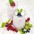 groselha · vidro · frutas · beber · suco · mesa · de · madeira - foto stock © es75