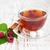 Кубок · красный · чай · тростник · сахар · корицей - Сток-фото © es75
