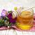 doce · trevo · flores · branco · raso - foto stock © es75
