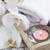 orchideeën · massage · stenen · houten · bloem · abstract - stockfoto © es75