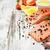 fresche · salmone · filetto · aromatico - foto d'archivio © es75