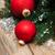 natal · pinheiro · ramo · dourado · isolado - foto stock © es75