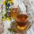 банку · меда · Полевые · цветы · старые · деревянный · стол · цветок - Сток-фото © es75