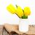 amarelo · tulipa · flores · primavera - foto stock © es75