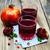 nar · meyve · suyu · cam · olgun · yalıtılmış · beyaz - stok fotoğraf © es75