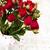 vaso · rosas · vermelhas · velho · flor · textura - foto stock © es75