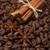 コーヒー豆 · シナモン · 自然 · 暗い · 朝食 · カップ - ストックフォト © es75