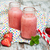 fraise · smoothie · vieux · fruits · verre · fond - photo stock © es75