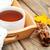 秋 · 茶 · 表 · 庭園 · 務め · 花 - ストックフォト © es75