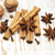 star anis cinnamon stick walnut and cloves stock photo © es75