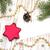 bugiganga · decorações · vermelho · branco · natal · espaço - foto stock © es75