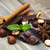 csokoládé · fűszer · csokoládé · szelet · kávé · fahéj · csillag - stock fotó © es75