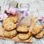 グルメ · クッキー · 桃 · ブラックベリー · ジャム · 充填 - ストックフォト © es75