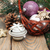 Noël · or · rouge · ornements · fête · décoration - photo stock © es75