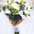 menyasszonyok · virágcsokor · menyasszony · fehér · zöld · kék - stock fotó © Es75