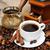 kávé · fahéj · diók · kávé · csokoládé · bár - stock fotó © es75