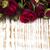 çiçekler · kırmızı · gül · beyaz · yeşil · duvar · kağıdı - stok fotoğraf © es75