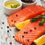 portions of fresh salmon fillet stock photo © es75