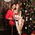 Рождества · настоящее · дерево · девушки · детей - Сток-фото © es75