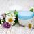 contenedor · crema · trébol · blanco · flor - foto stock © Es75
