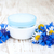 container with cream and cornflowers stock photo © es75